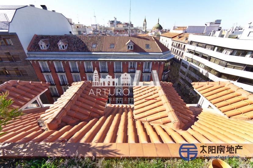 销售位于Madrid (马德里省)市中心的阁楼