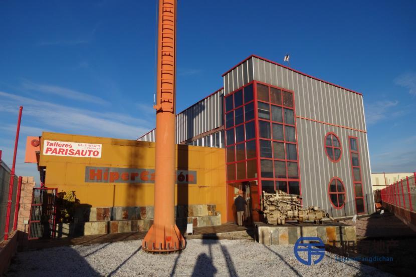 位于Cordel de la Carrera工业区。 大型工业厂房
