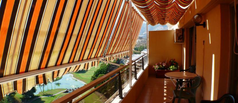 Torrequebrada高尔夫球场的单间套房