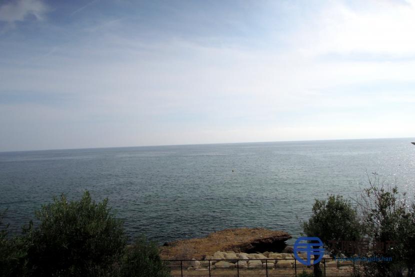 情节位于海面前...