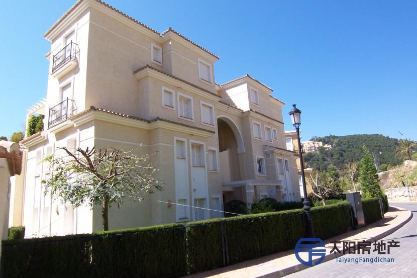 出售位于Altea Hills (Zona) (阿里坎特省)市中心的复式公寓