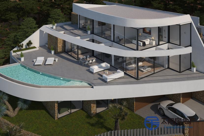 出租位于Altea (阿里坎特省)市外的独立房子