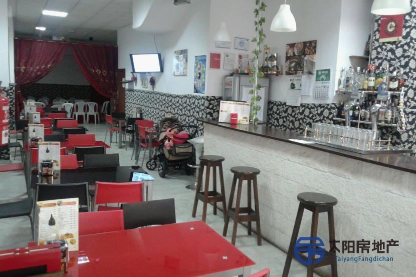 Bar Restaurante y cafeteía en traspaso en el centro de huelva LA MERCED