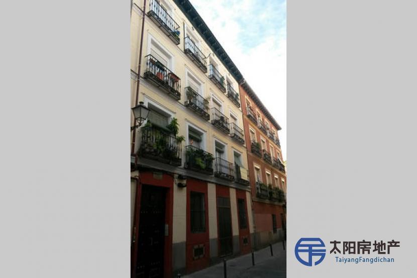 可获得西班牙居留的房地产投资。 3间位于西班牙马德里历史中心区的公寓。