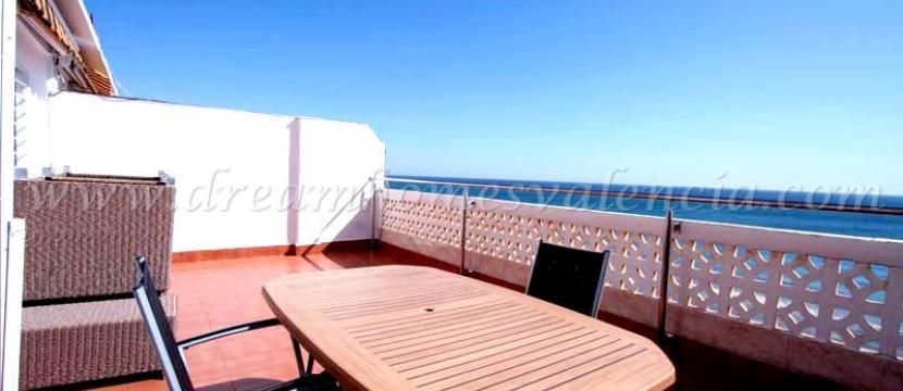 海滨阁楼位于El Perellonet, 瓦伦西亚