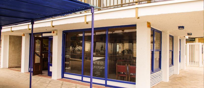 Local Restaurante Frente al mar