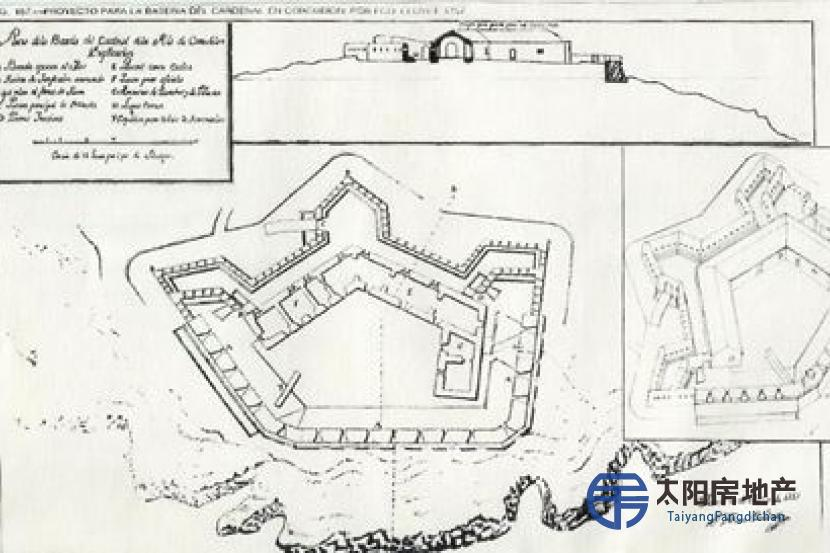 销售西班牙 十八世纪的城...