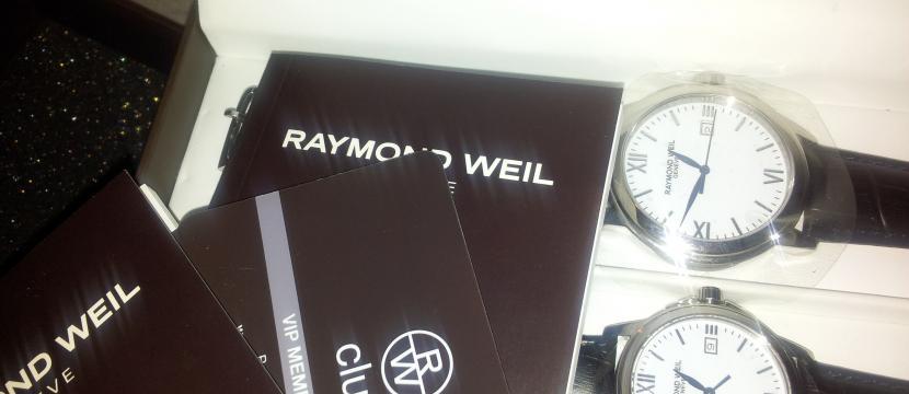 pareja de relojes raymond weil