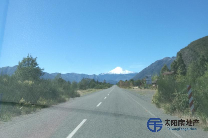 Turismo lago y volcan hermoso