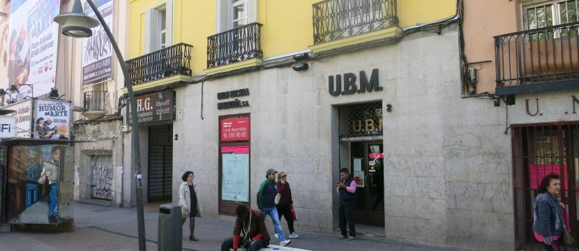 商业店铺位于Tirso de Molina广场,在剧院的旁边