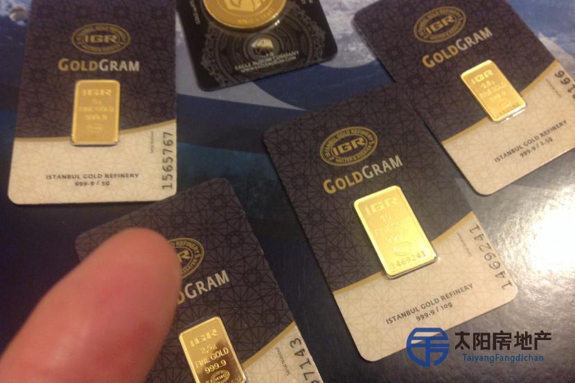 Oro y plata de inversión
