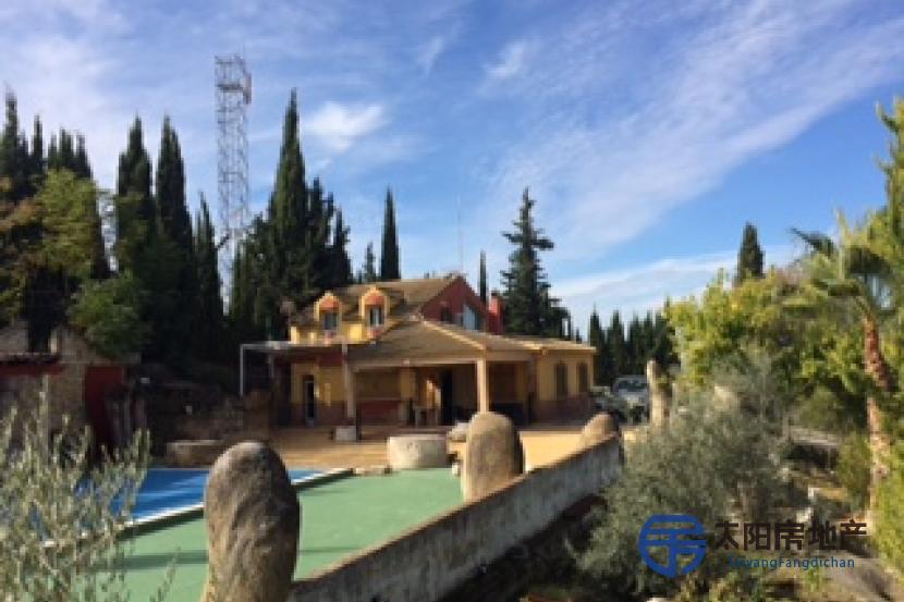 别墅与壮观的景色,游泳池...