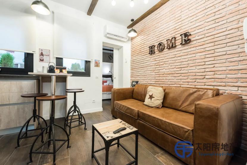 出售位于Madrid (马德里省)市中心的单身公寓
