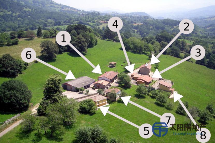 在村庄可用的建筑物...