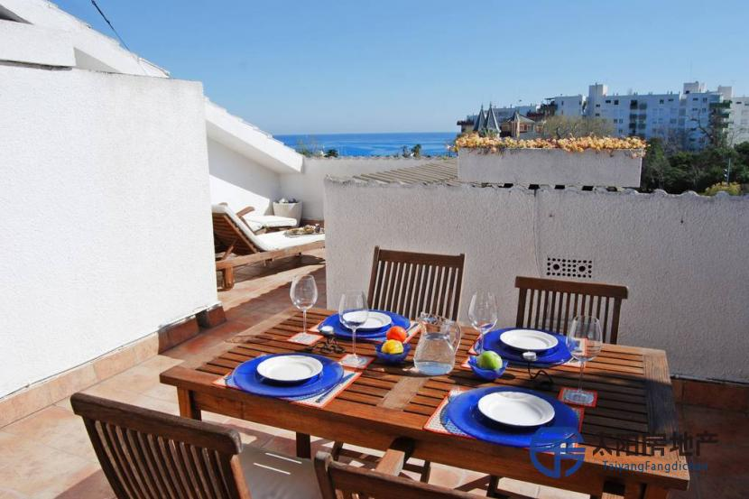 出售位于El Masnou (巴塞罗那省)市中心的复式公寓