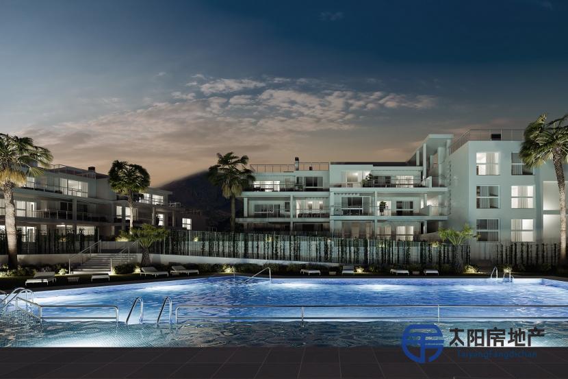 出售位于Benahavis (马拉加省)市中心的单身公寓