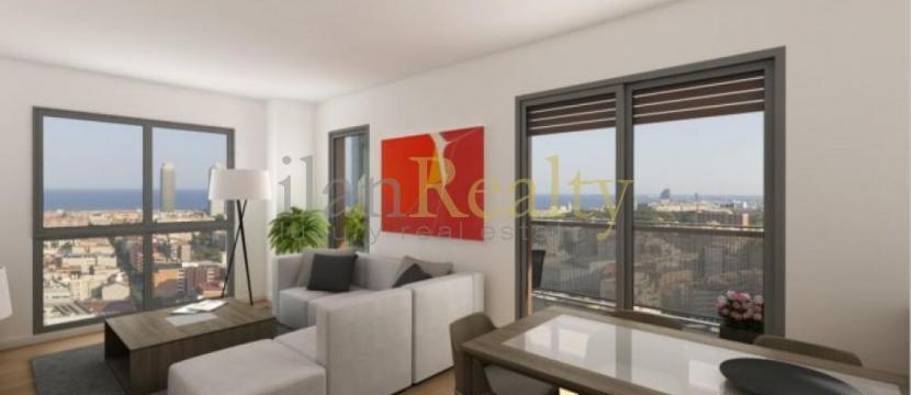 位于巴塞罗那的Poblenou的新公寓出售。 价格从20万欧元。