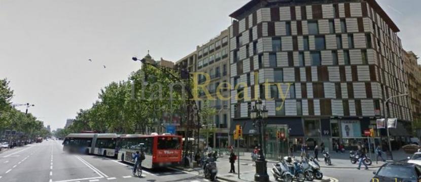 位于巴塞罗那市中心的Paseo de Gracia的公寓出售