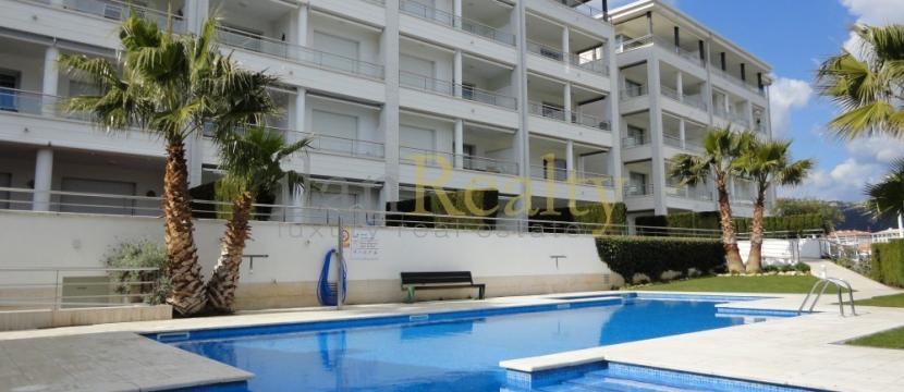 位于Costa Brava, 距离海滩100米的极好公寓