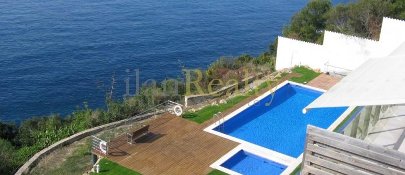 位于Costa Brava的Sant Feliu de Guixols, 在海滩旁边的美丽公寓