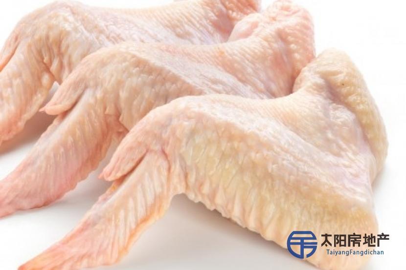 pollo congelado y partes de pollo