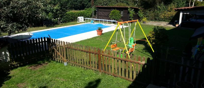 Gran Chalet con finca y piscina