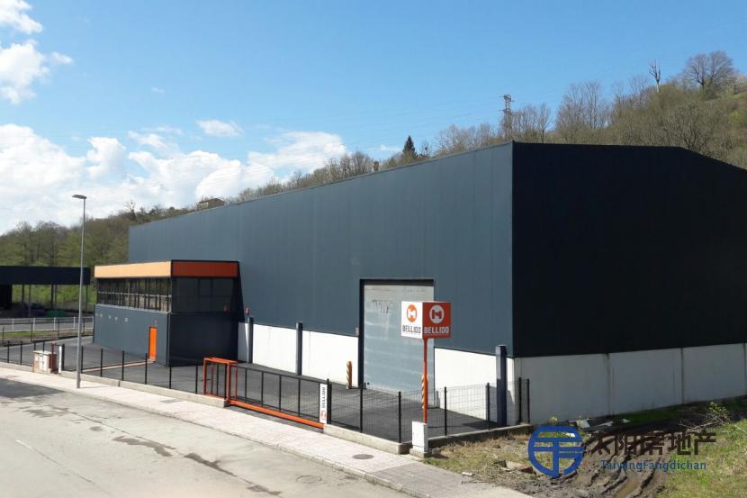 工业仓库的销售,物流和存储的理想选择,在Asturias市中心