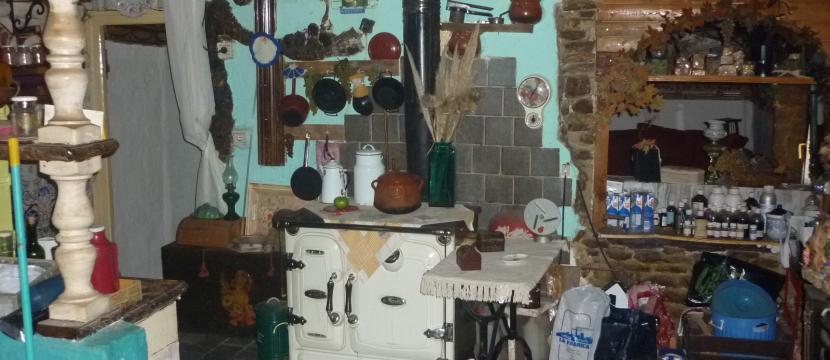 casa de pueblo decoracion rustica