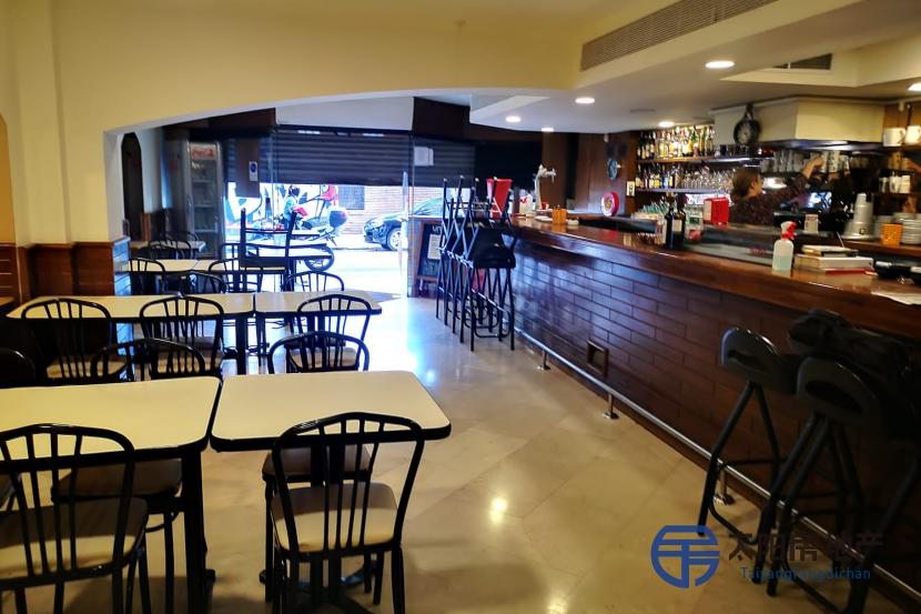 餐厅在上部区域巴塞罗那...