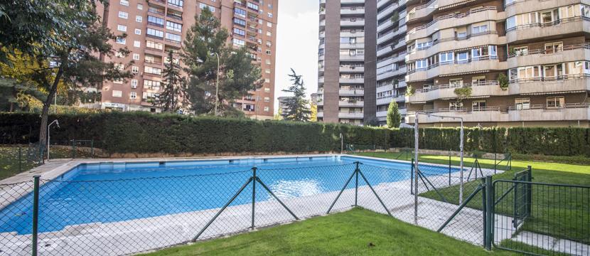 Piso amplio y con mucha luz en Madrid /Luminous flat in Madrid