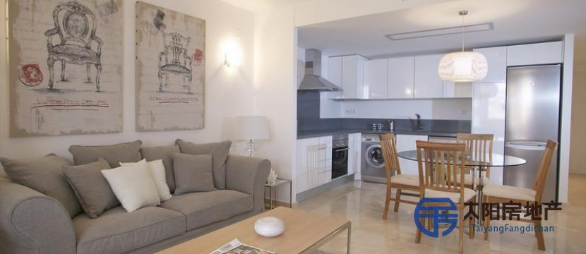 Espacioso apartamento en un residencial de lujo al lado de la playa