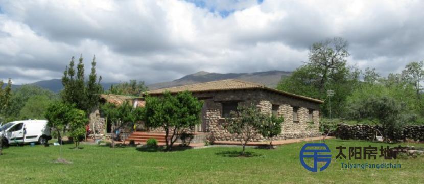 250平方米的别墅,占地7,000平方米,位于Candeleda(阿维拉)