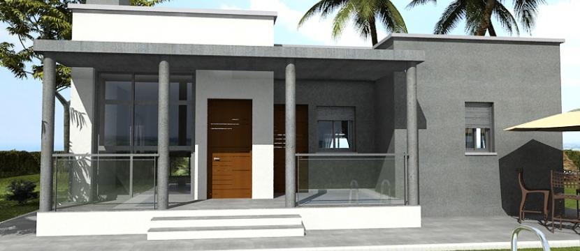 高品质建筑的住宅位于特权区