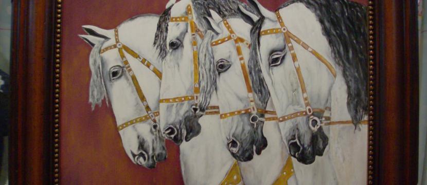 Oportunidad, Barrero Pintor artistico,liquida sus obras por necesidad economica