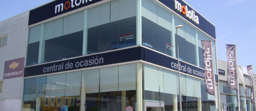 vendo edificio comercial en malaga