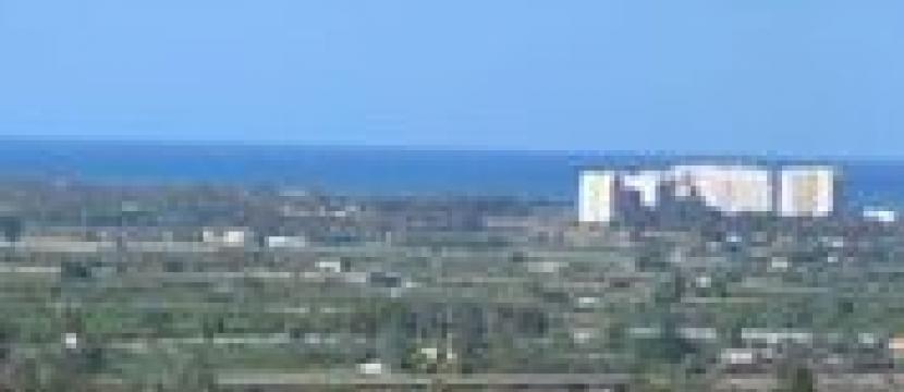 Parcela con vistas al mar en Ciudad Quesada