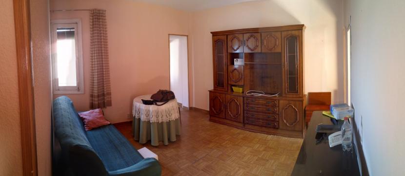 兩間臥室的公寓在馬德里,西班牙翻新