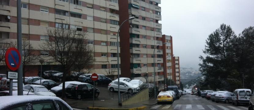 位于巴塞罗那附近的公寓
