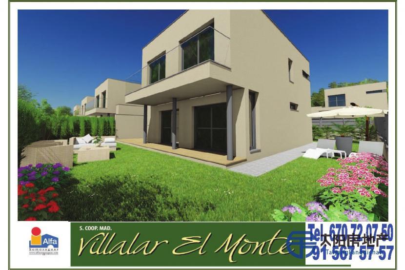 销售位于Villaviciosa De Odon (马德里省)市中心的别墅